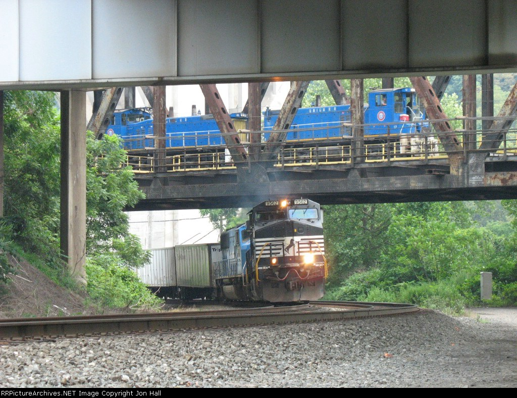 Over-Under NS and URR trains