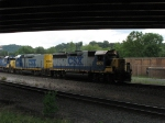CSX 6901 and 2251 head south leading D748