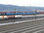 8 former Conrail GP38's await their fate