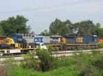CSX 214 & 5107