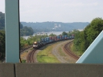 NS 2700 through the bridge