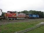 BNSF 601 & NS 8417
