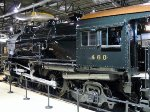 PRR E6s 460 inside the museum