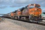 Eastbound loaded grain train