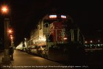 SSW 9389 at night in LAUPT.