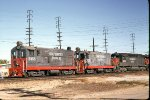 SP 2358 and 2357 seen at Industry Yard in So Cal.