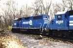 Conrail 7883 & 8059