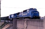 Conrail Units Moving A Coal Drag Over The Former Western Maryland