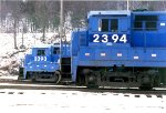 EX Conrail units then owned by the R&N