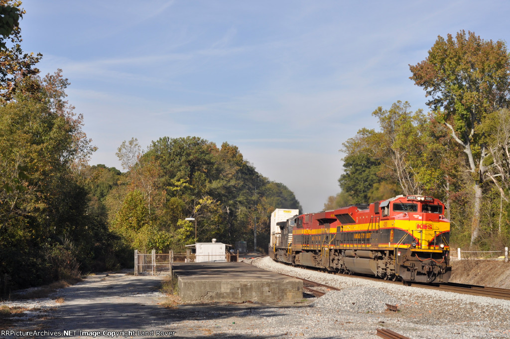 KCS 4051 On NS 220 Southbound