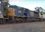 CSX SD80MAC at Iona Island
