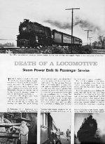 """Death Of A Locomotive,"" Page 16, 1958"