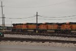 BNSF 4609 sits in storage in Kc Mo.