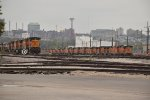 BNSF 4629 and more sit in storage in Kc Mo.