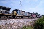 CSX 7502 (C40-8) HLCX 6083 (SD40M-3) CSX 8538 (SD50)