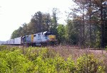 CSX 2502 (GP38-2) 2340 (Road Slug)