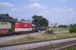 BNSF 4980 (C44-9W) NS 8378 (C40-8W) Conrail Quality Paint NS 9140 (C40-9W)