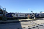 Caltrans Siemens Chargers Leaving Sacramento Valley Station