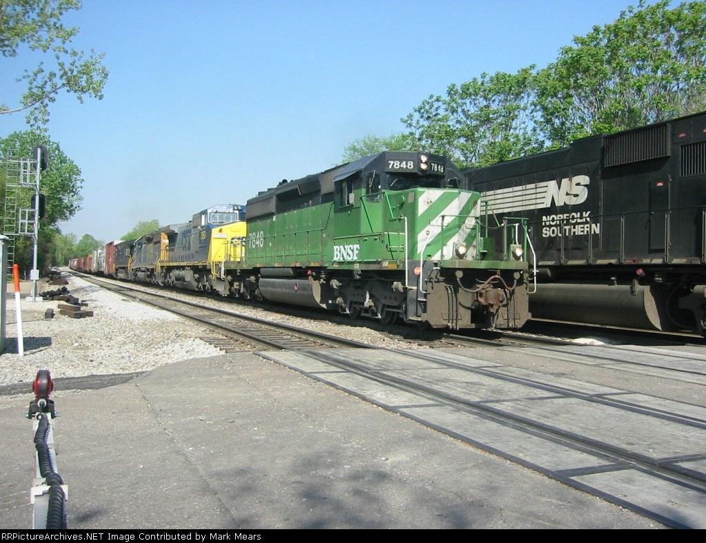 BNSF 7848