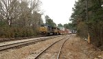 CSX C40-8W 7772 and UP SD70M 4600
