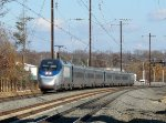 Amtrak Train 2205 to DC