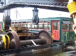 M55 Hiding behind a crane