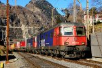 Freight trains around Switzerland