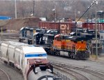 BNSF 6651 and NS 6948