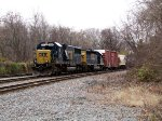 CSX 8596 and 8137
