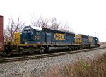 CSX 8137 and 8596