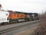 BNSF 4484 and NS 9913