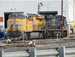 UP 7515 and CSX 837