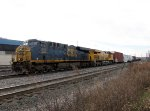 CSX 837 and UP 7515