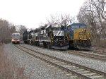 NJT 3503, NS 5271, CSX 837
