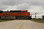 BNSF 8530 across Blackwood Road