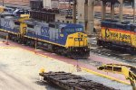 CSX 7866 in NN Yard