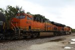 BNSF 6670 and 3935