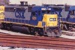 CSX 6218 at Bryan Park