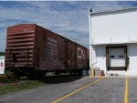 ex CN boxcar at Musselmans Apple processing in Gardners  PA