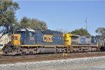 CSXT 8319 On CSX J 791 At New River