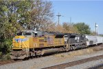 UP 8557 On NS 123 Eastbound