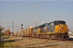 CSXT 3347 On CSX Q 241 Eastbound On The NS