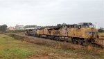CSX 956 and 245 teamed up with UP 7643 and 6031