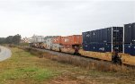 CSX 956 and 245 and UP 7643 and 6031 hustle NB