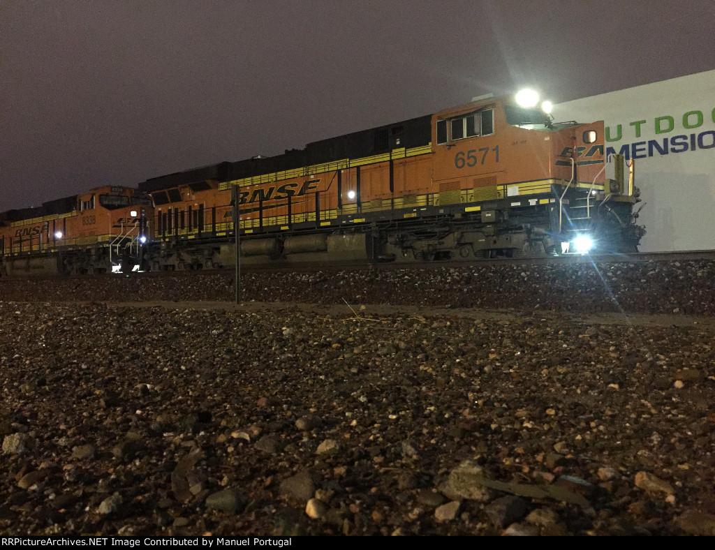 BNSF 6571