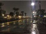 A Rainy Night at Fullerton Station