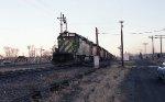 BN/Milwaukee coal train