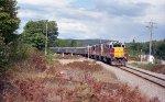 Southbound Agawa Canyon train