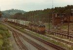 Milwaukee Road Sprint train westbound