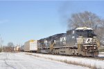 NS 8396 On NS 143 Eastbound